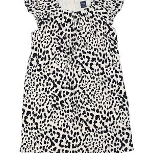Baby Gap leopard print shift dress size 4 years 4T